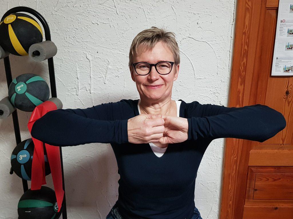 Stärken der Schulter- und Rückenmuskulatur