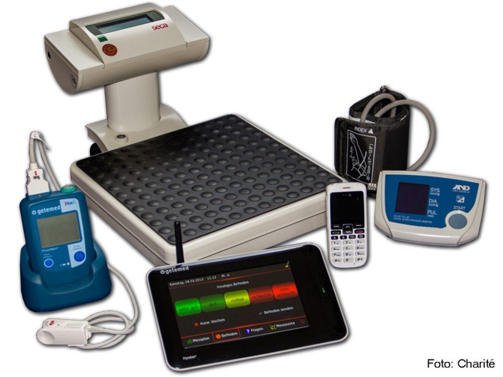 Telemedizin Geräte beim Patienten