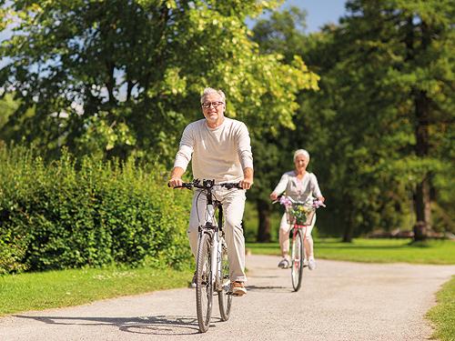 Schönwettervariante: mit Radfahren oder Wandern